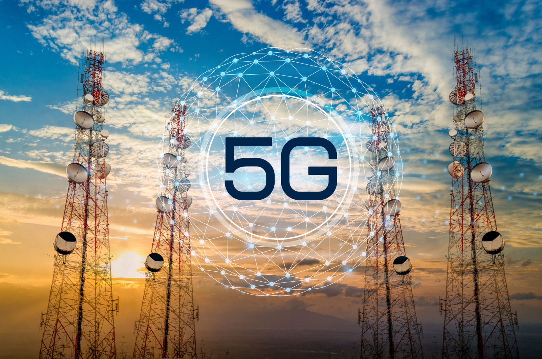 5G networks and speech to text transcription data